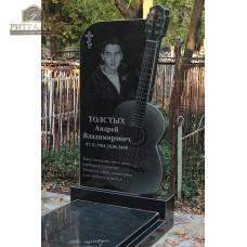 Креативный памятник 42 Гитара — ritualum.ru